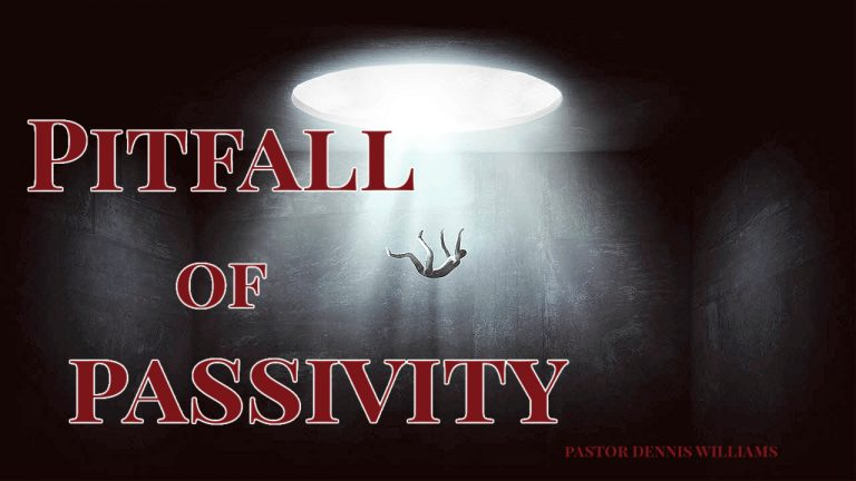 Pitfall of Passivity | Work While There is Light