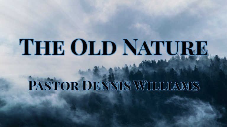The Old Nature